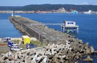 玉の脇漁港